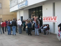 Greve no Banrisul Erechim
