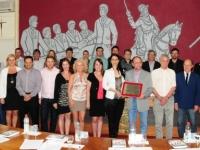 Homenagem da Câmara de Vereadores de Erechim aos 60 Anos do Sindicato dos Bancários de Erechim e Região